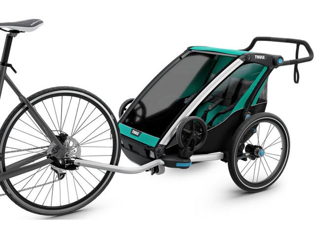Thule Chariot Lite2 Cykelanhænger grøn/sort (2019) | bike_trailers_component